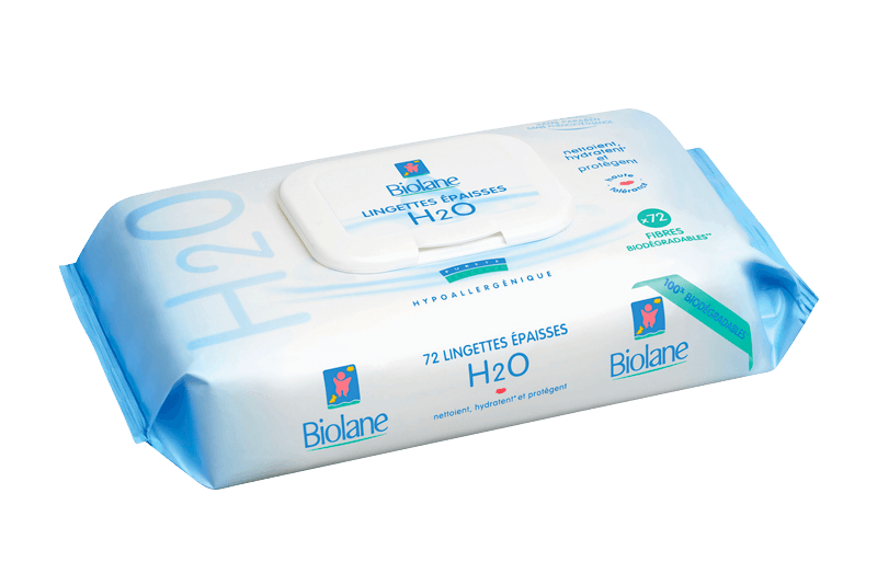 Image Thick H2O Baby Wipes