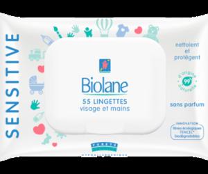 Lingettes-Visage-et-Mains-Sensitive-Biolane-Specialiste-en-hygiene-et-soin-bebe