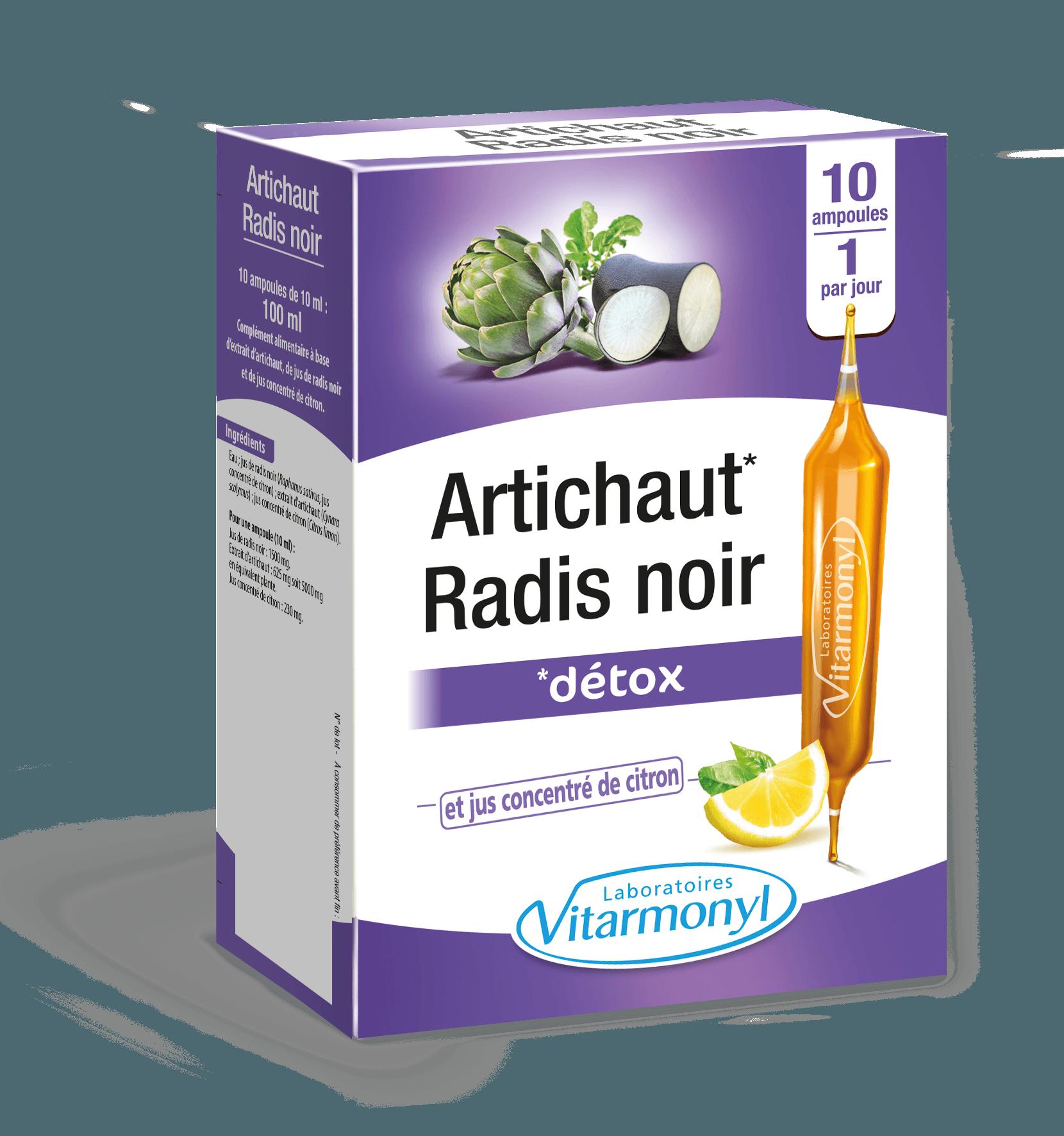 Image Panier d'actifs – Artichaut Radis noir Ampoule