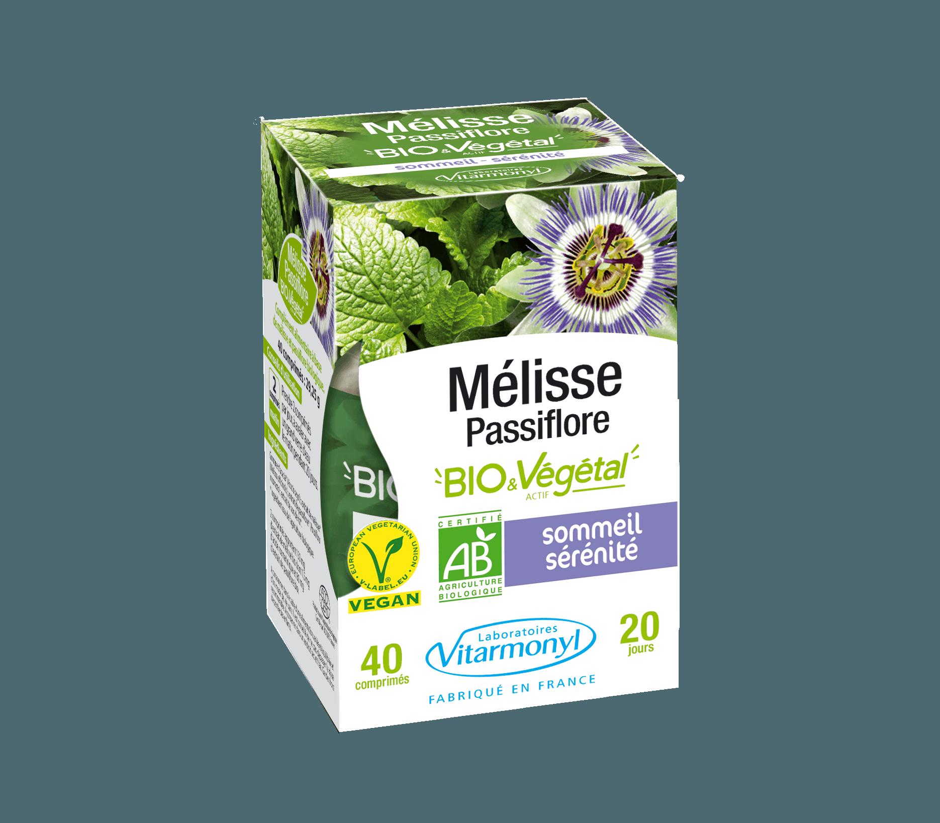 Image Mélisse – Passiflore BIO