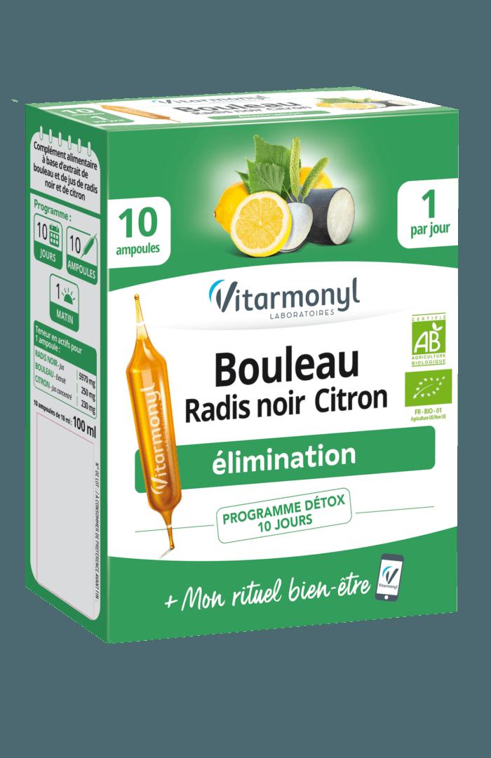 Image Bouleau Radis noir Citron – Ampoule