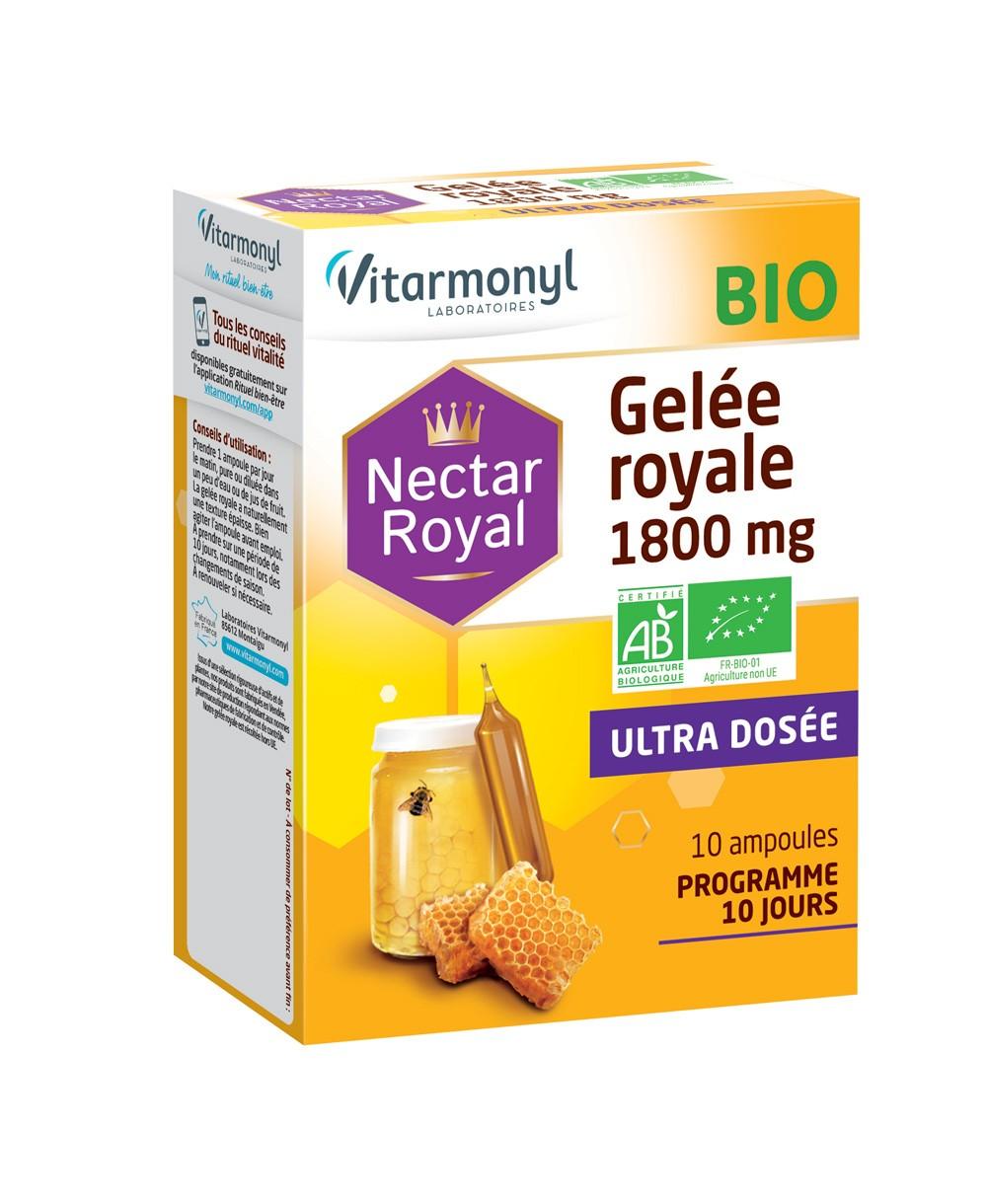 Gelée royale BIO 1800 mg