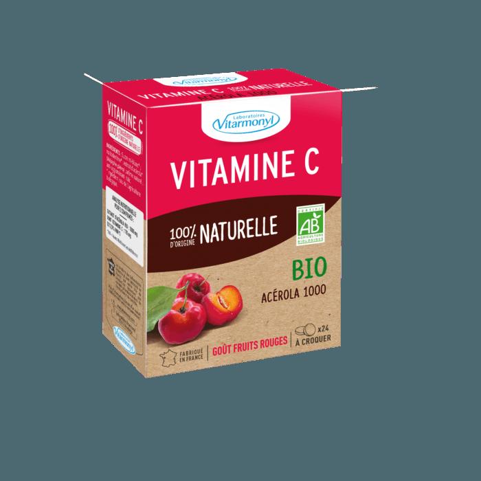 Vitamine C 100% d'origine naturelle Bio