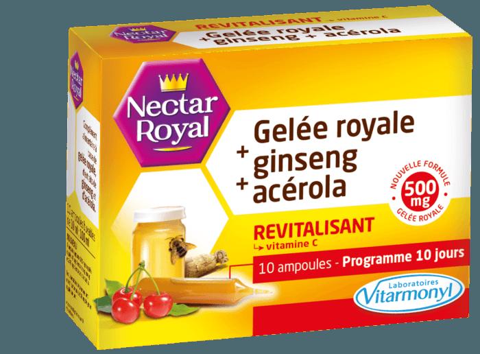 Image Gelée royale + ginseng + acérola