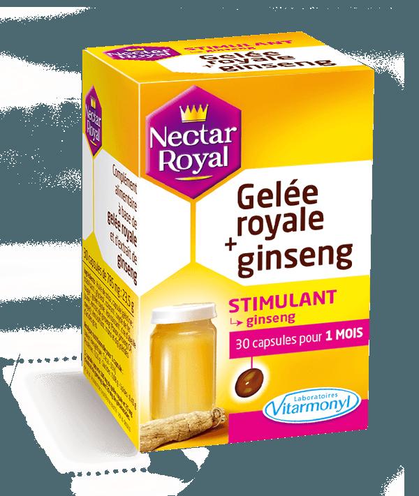 Image Gelée royale + ginseng