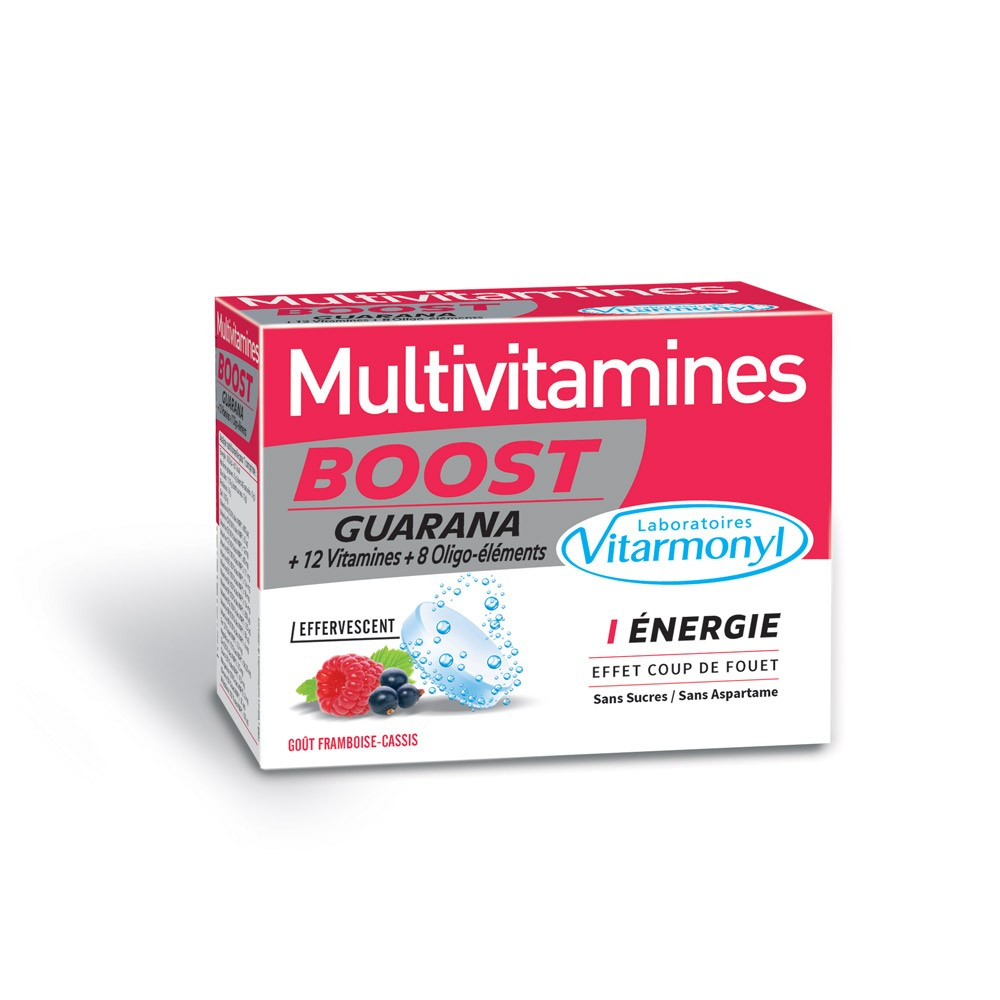Multivitamines BOOST GUARANA